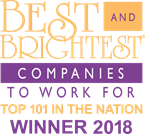 Best and Brightest Companies to Work For in the Nation in 2017 and 2018