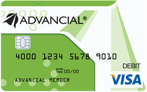 advancial debit card
