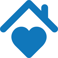 house with a heart icon
